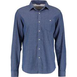 Koszule męskie na spinki: Knowledge Cotton Apparel LIGHT STRIPED LOOK Koszula washed blue denim