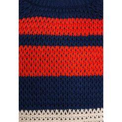 Swetry chłopięce: Scotch Shrunk STRIPED CREWNECK Sweter blue