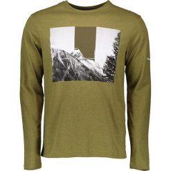 """T-shirty męskie z nadrukiem: Koszulka """"Coalesce"""" w kolorze khaki"""