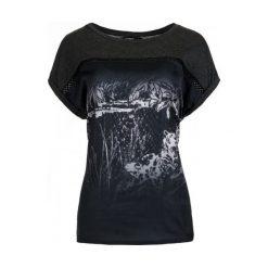 Desigual T-Shirt Damski Leopard Degrade S Szary. Szare t-shirty damskie marki Desigual, s. W wyprzedaży za 134,00 zł.