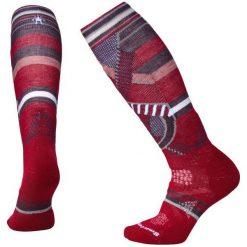 Smartwool Damskie Skarpetki W Phd Ski Medium Pattern, Tibetan Red, L. Czerwone skarpetki damskie marki Devold, z materiału. Za 105,00 zł.