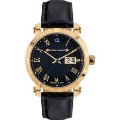 """Zegarki męskie: Zegarek kwarcowy """"Nestorius"""" w kolorze czarno-złotym"""