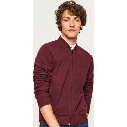 Bluza bomber - Bordowy. Czerwone bluzy męskie marki KALENJI, m, z elastanu, z długim rękawem, długie. Za 119,99 zł.