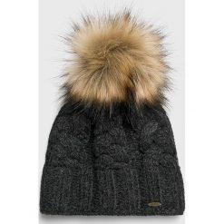 Starling - Czapka. Czarne czapki zimowe damskie marki INOVIK, z elastanu. Za 119,90 zł.