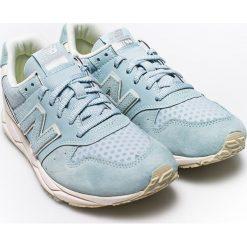 New Balance - Buty. Szare buty sportowe damskie New Balance, z gumy. W wyprzedaży za 239,90 zł.