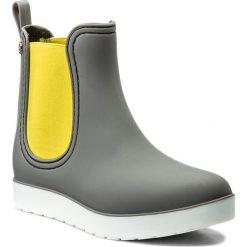 Kalosze GIOSEPPO - Chambery 36822-SL Grey. Szare buty zimowe damskie marki Gioseppo, z gumy. Za 159,00 zł.