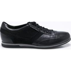 Gino Rossi - Buty Jim. Czarne buty sportowe męskie marki Gino Rossi, z materiału, ze sznurowanym dekoltem. W wyprzedaży za 319,90 zł.