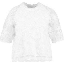 Bluzki asymetryczne: YAS YASWARLA BRIDAL Bluzka white