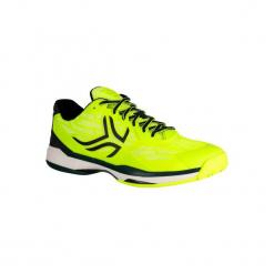 Buty tenisowe TS990 męskie. Żółte buty do tenisa męskie marki ARTENGO, z gumy. Za 199,99 zł.