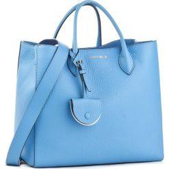Torebka COCCINELLE - BP1 Jamila Bubble E1 BP1 18 01 01 Azur 021. Niebieskie torebki klasyczne damskie marki Coccinelle, w ażurowe wzory, ze skóry, duże. W wyprzedaży za 1289,00 zł.