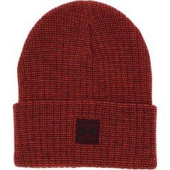 Czapka UNDER ARMOUR - Truckstop Beanie 2.0 1318517 Red 890. Czerwone czapki zimowe damskie Under Armour, z materiału. Za 79,95 zł.