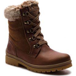 Trapery PANAMA JACK - Tuscani B1 Cuero/Bark. Brązowe buty zimowe damskie Panama Jack, z materiału. Za 789,00 zł.