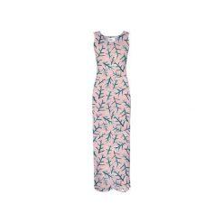 Sukienka CP-025  276. Szare długie sukienki Colour pleasure, l, z dzianiny, na ramiączkach. Za 159,00 zł.