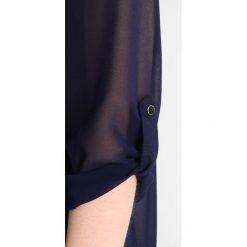 Bluzki asymetryczne: Dorothy Perkins Tall NAVY TRIM BLOUSE Bluzka navy