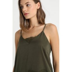 Topy damskie: Cream SAMARA  Top dark army green