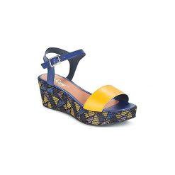Sandały Betty London  GERAS. Niebieskie sandały damskie marki Betty London. Za 230,30 zł.