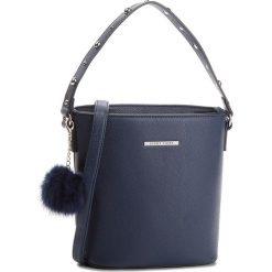 Torebka JENNY FAIRY - RC15408 Navy. Niebieskie torebki klasyczne damskie marki Jenny Fairy, ze skóry ekologicznej. Za 69,99 zł.