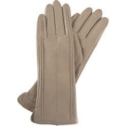 Rękawiczki damskie 39-6-511-6A. Brązowe rękawiczki damskie marki Wittchen, na zimę, z polaru. Za 99,00 zł.