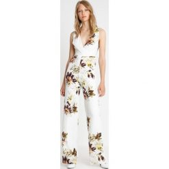Kombinezony damskie: Hope & Ivy Tall PRINTED Kombinezon white