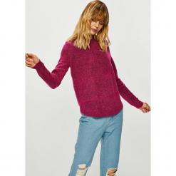 Vero Moda - Sweter Duarte. Szare swetry klasyczne damskie marki Vero Moda, l, z bawełny, casualowe. Za 99,90 zł.