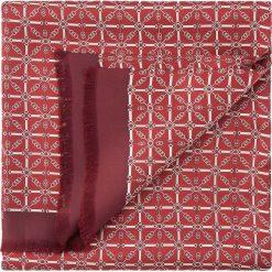 Szal męski 86-7M-S40-X03. Czerwone szaliki męskie marki Wittchen, z jedwabiu. Za 169,00 zł.