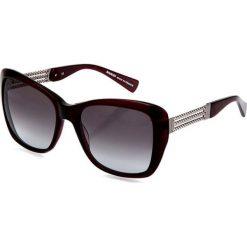 """Okulary przeciwsłoneczne damskie: Okulary przeciwsłoneczne """"BL206703"""" w kolorze czerwono-szarym"""