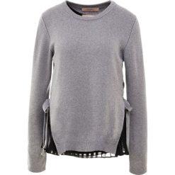 TWINSET MAGLIA Sweter grigo. Szare swetry klasyczne damskie Twinset, l, z kaszmiru. Za 939,00 zł.