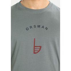 T-shirty męskie z nadrukiem: Orsman GUIDE LOGO TEE Tshirt z nadrukiem grey marl