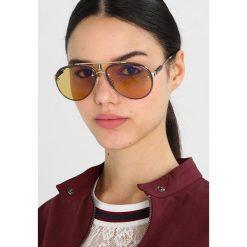 Carrera GLORY Okulary przeciwsłoneczne goldcoloured yell. Żółte okulary przeciwsłoneczne damskie lenonki Carrera. Za 969,00 zł.