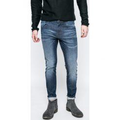 Produkt by Jack & Jones - Jeansy. Niebieskie jeansy męskie slim PRODUKT by Jack & Jones, z bawełny. W wyprzedaży za 99,90 zł.