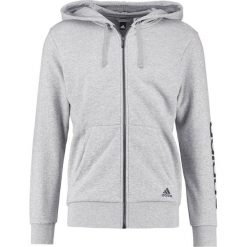 Bluzy męskie: adidas Performance Bluza rozpinana medium grey heather