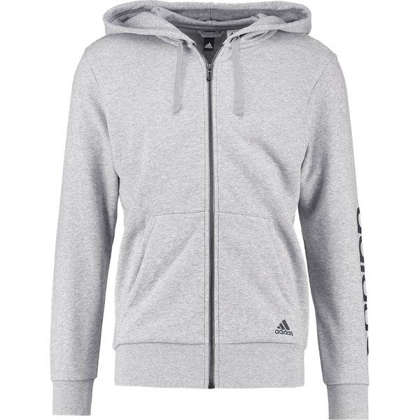 adidas Performance Bluza rozpinana gray Zalando.pl