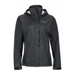Marmot Wm's Precip Jacket Black S. Czarne kurtki damskie softshell Marmot, m. W wyprzedaży za 379,00 zł.