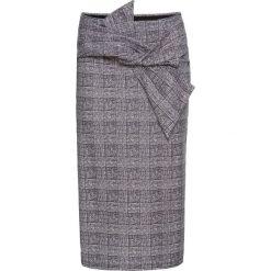 Spódniczki: Spódnica ołówkowa bonprix szaro-czarny w kratę