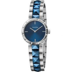 ZEGAREK CALVIN KLEIN Edge K5T33T4N. Niebieskie zegarki damskie marki Calvin Klein, szklane. Za 1219,00 zł.