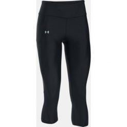 Spodnie sportowe damskie: Under Armour Spodnie damskie Fly By Capri czarne r. M (1297933-002)