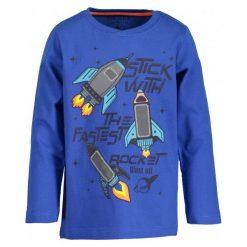 Blue Seven Koszulka Chłopięca Z Rakietami 98 Ciemnoniebieski. Niebieskie t-shirty chłopięce Blue Seven. Za 49,00 zł.