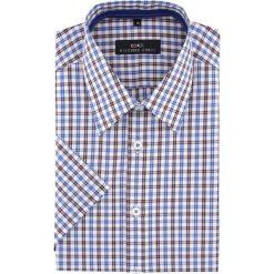 Koszula FABIO 15-11-20-K. Brązowe koszule męskie na spinki marki QUECHUA, m, z elastanu, z krótkim rękawem. Za 169,00 zł.