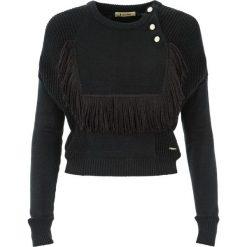 Sweter damski Hydrus. Czarne swetry oversize damskie Ochnik, z dzianiny. Za 79,90 zł.