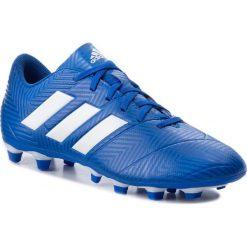 Buty adidas - Nemeziz 18.4 Fxg DB2115 Fooblu/Ftwwht/Fooblu. Białe buty skate męskie marki Adidas, m. W wyprzedaży za 179,00 zł.