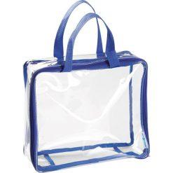 "Shopper bag damskie: Shopper bag ""Nya"" w kolorze niebieskim – 28 x 24,5 x 8,5 cm"