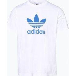 Adidas Originals - T-shirt męski, czarny. Czarne t-shirty męskie adidas Originals, m, z bawełny, z klasycznym kołnierzykiem. Za 89,95 zł.