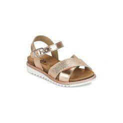 Sandały Dziecko  Citrouille et Compagnie  GAUFRETTE. Szare sandały dziewczęce marki Citrouille et Compagnie. Za 149,00 zł.