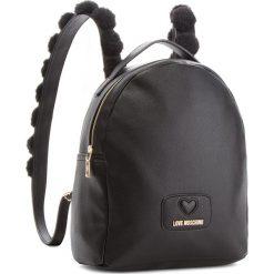 Plecak LOVE MOSCHINO - JC4287PP06KL0000 Nero. Czarne plecaki damskie Love Moschino, ze skóry ekologicznej. Za 959,00 zł.