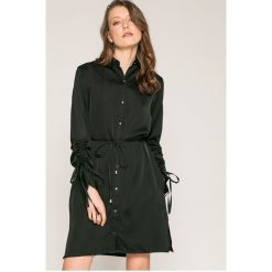Answear - Sukienka. Szare sukienki ANSWEAR, l, z poliesteru, eleganckie, mini. W wyprzedaży za 119,90 zł.