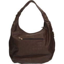 TOREBKA F09-2129. Brązowe torebki klasyczne damskie Casu. Za 79,99 zł.