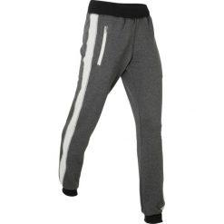Spodnie dresowe damskie: Spodnie dresowe, długie bonprix antracytowy melanż
