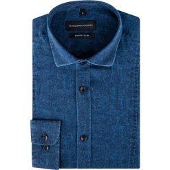 KOSZULA KDNE000261. Szare koszule męskie na spinki marki S.Oliver, l, z bawełny, z włoskim kołnierzykiem, z długim rękawem. Za 229,00 zł.