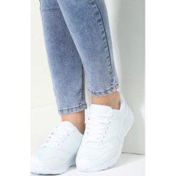 Buty sportowe damskie: Białe Buty Sportowe Cross Your Mind