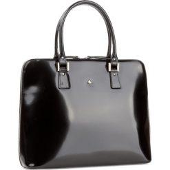 Torebka CREOLE - RBI10075  Czarny. Czarne torebki klasyczne damskie marki Creole, ze skóry. W wyprzedaży za 339,00 zł.